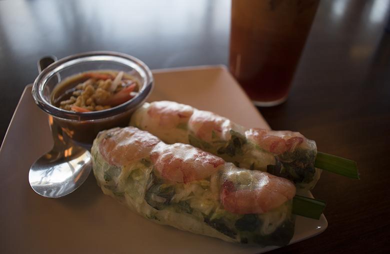 Dao's Tai Pan's spring rolls