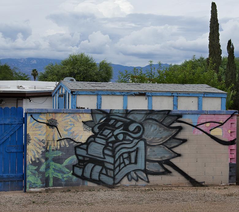 Neighbohood Mural, CactusCatz
