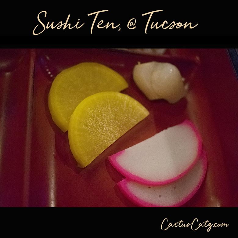 Tempura sashimi combo at @Sushi Ten, Tucson, photo by M. LaFreniere, all rights reserved, Cactus Catz